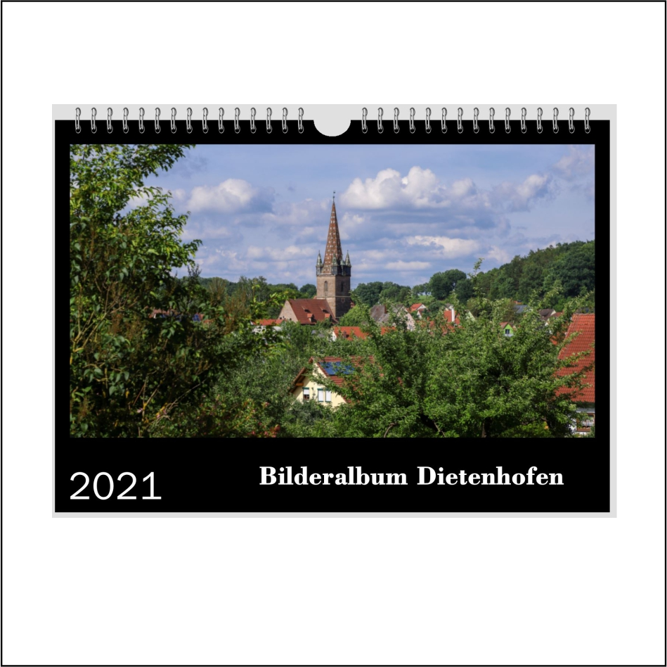 "Kalender ""Bilderalbum Dietenhofen"""