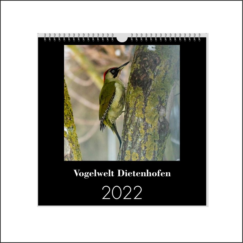 """Kalender """"Vogelwelt Dietenhofen"""""""