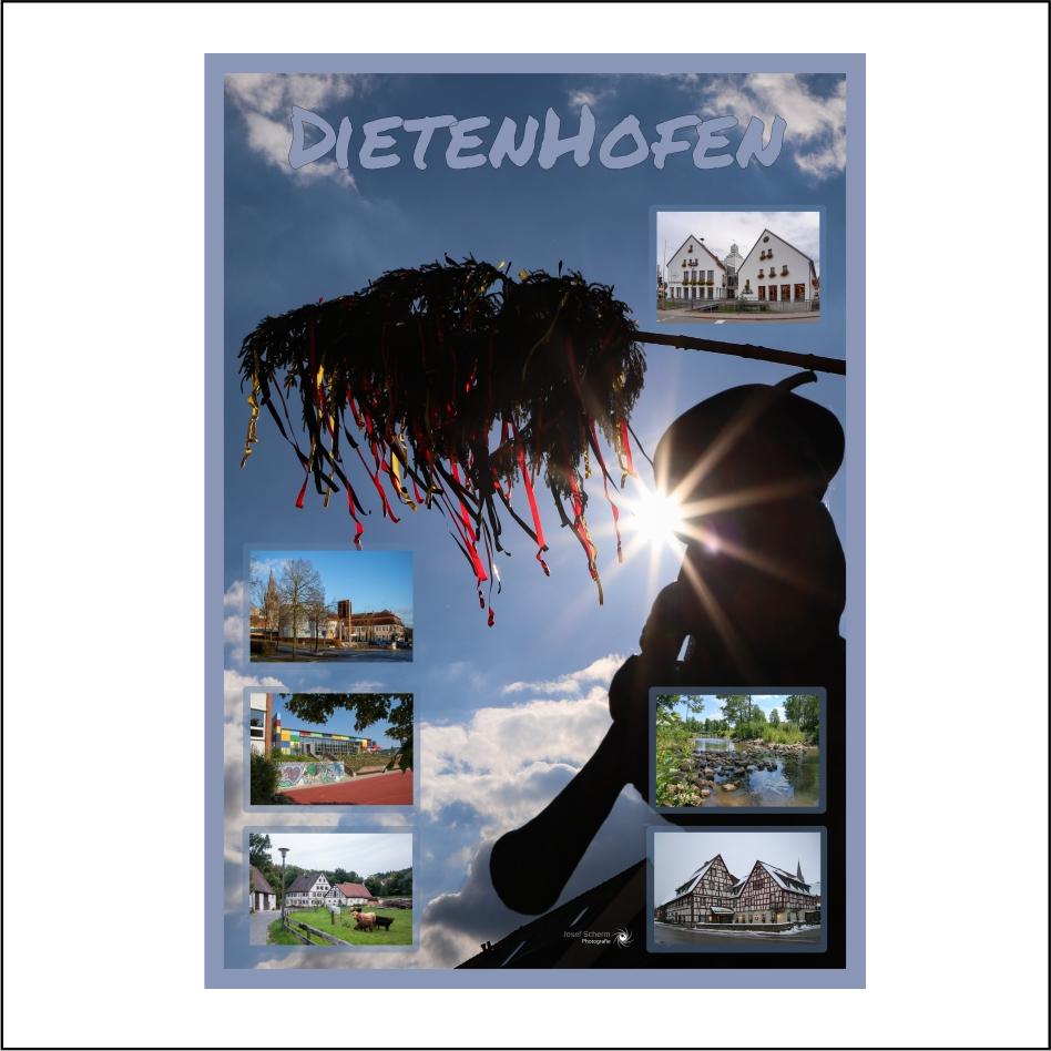 "Poster ""Dietenhofen"""