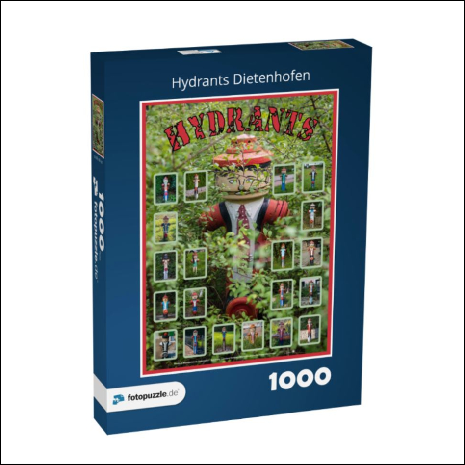"""Puzzle """"Hydrants"""""""