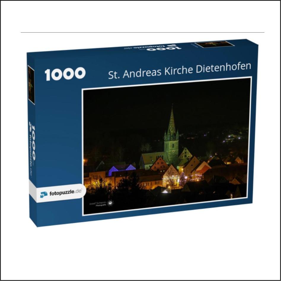 """Puzzle """"St. Andreas Dietenhofen"""""""