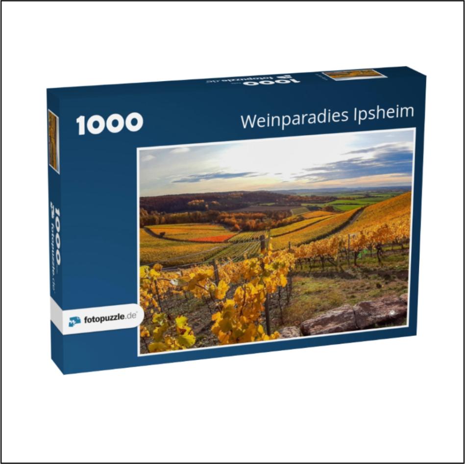 """Puzzle """"Weinparadies Ipsheim"""""""