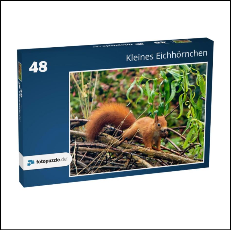 """Kinder-Puzzle """"Kleines Eichhörnchen"""""""